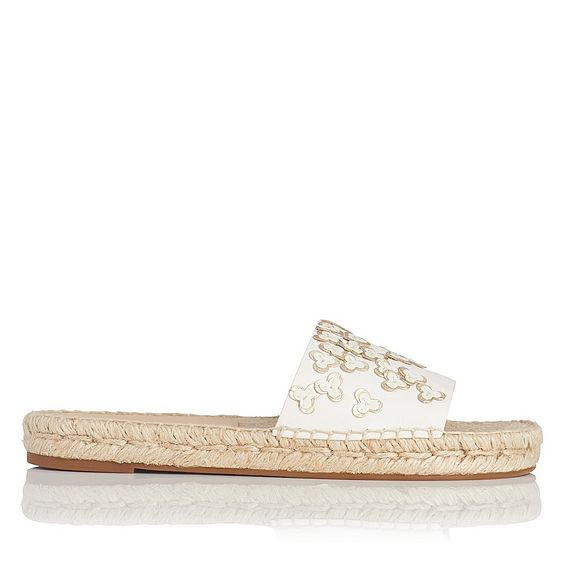 Louna Multi Nappa Leather Flat Sandals