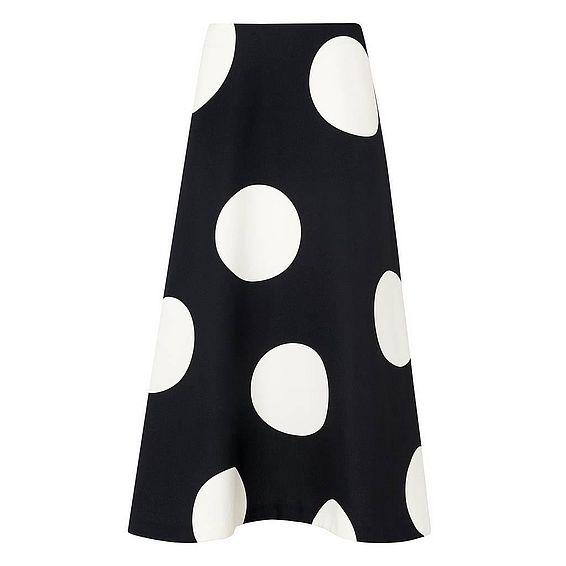 Marlin Print Skirt