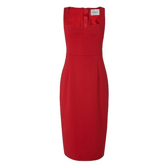 Marlowe Red Body Con Dress
