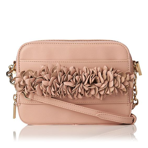 Mia Pink Nappa Leather Shoulder