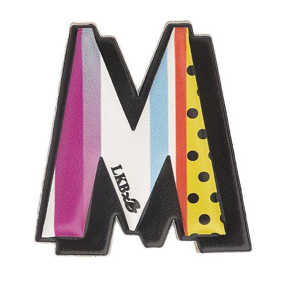 M - Boyarde Printed Leather Sticker