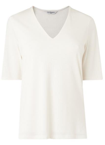Orla Cream Jersey Top