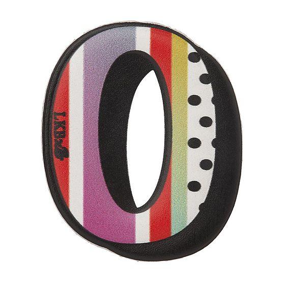 O - Boyarde Printed Leather Sticker