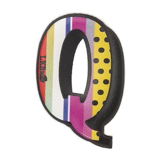 Q - Boyarde Printed Leather Sticker