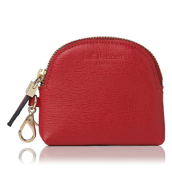 Raven Red Saffiano Leather Purses