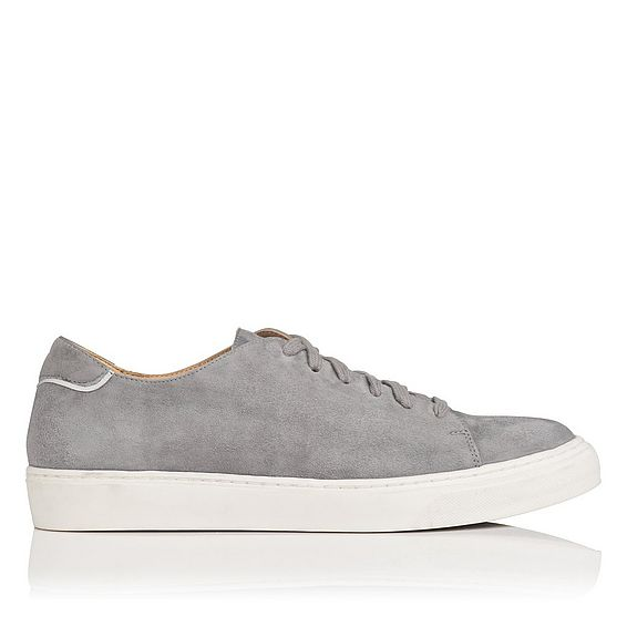 Reese Grey Suede Trainers