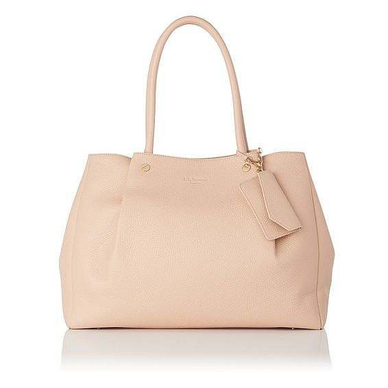 Regan Natural Grained Leather Tote