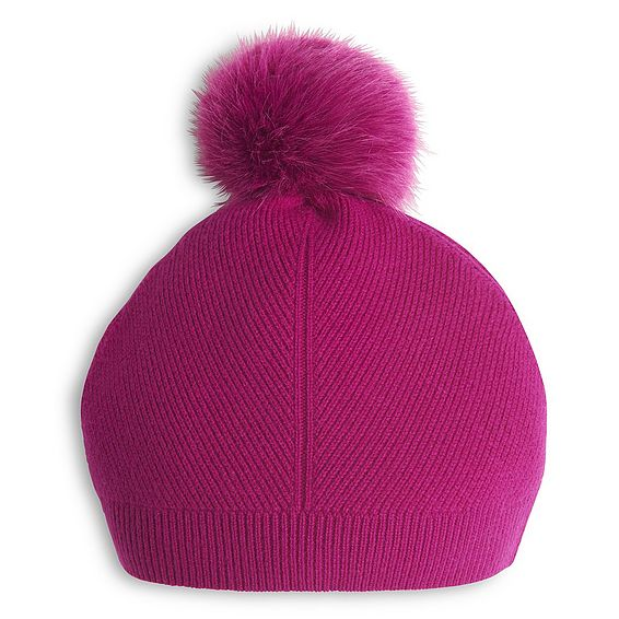 Rosa Orchid Wool Cashmere Hat