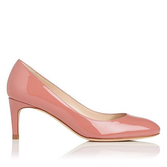 Sash Pink Patent Closed Courts