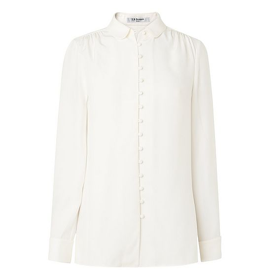 Sia Cream Silk Top