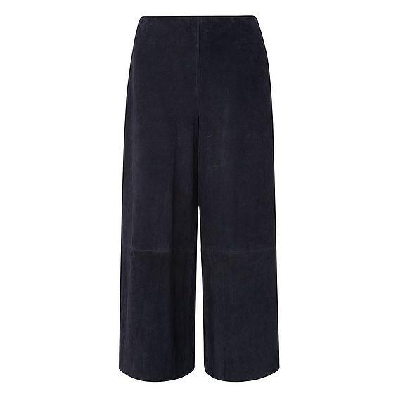 Suzi Blue Leather Trouser