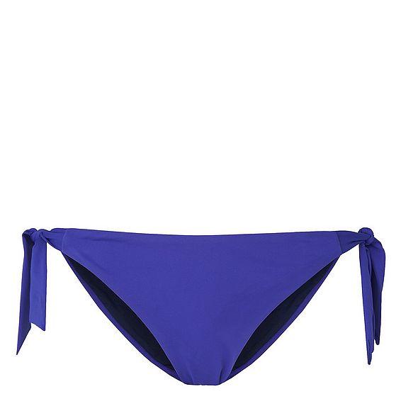 Claudia Blue Tie Side Bikini Bottom