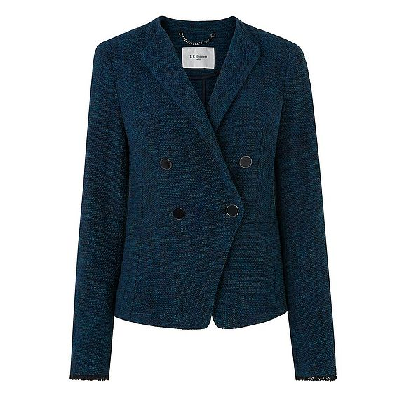 Wren Blue Cotton Jacket