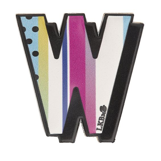 W - Boyarde Printed Leather Sticker