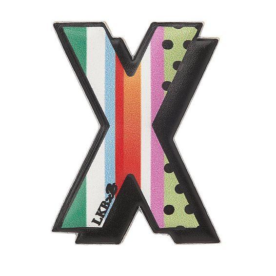 X - Boyarde Printed Leather Sticker