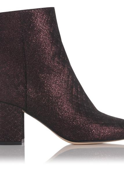Jourdan Loganberry Leather Ankle Boots