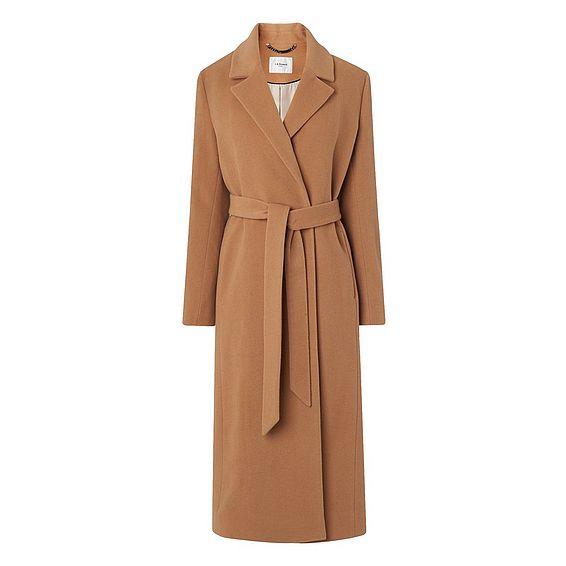 Clara Camel Wool Coat