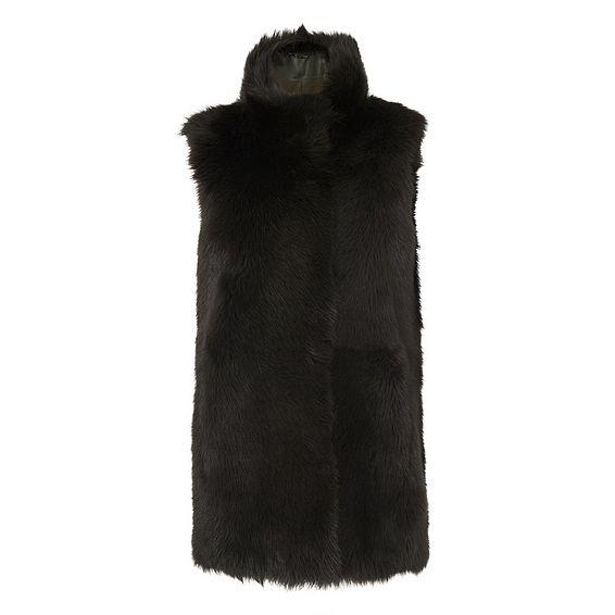 Willa Forest Sheepskin Coat