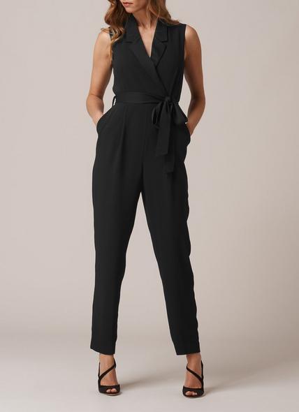 Lavin Black Jumpsuit