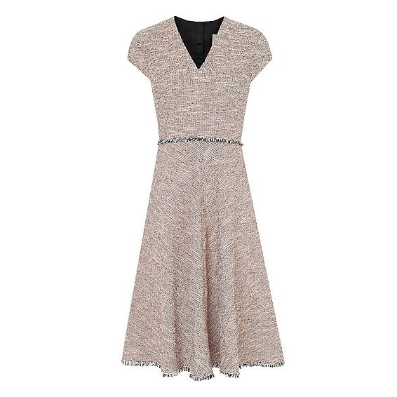 Shippa Pink Tweed Dress