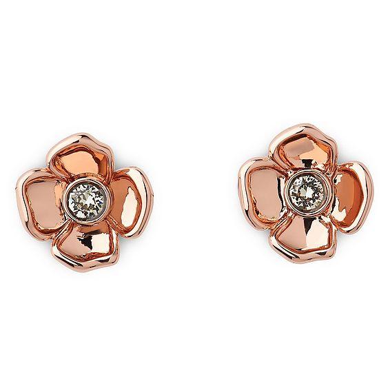 Faye Rose Gold Earrings