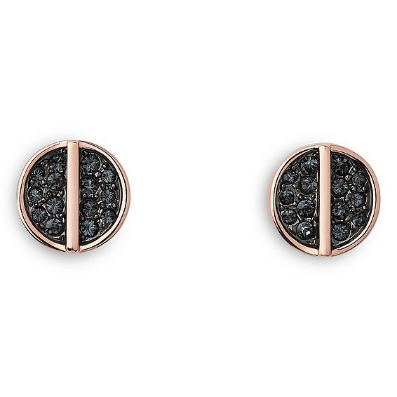 Hattie Dark Grey Earrings