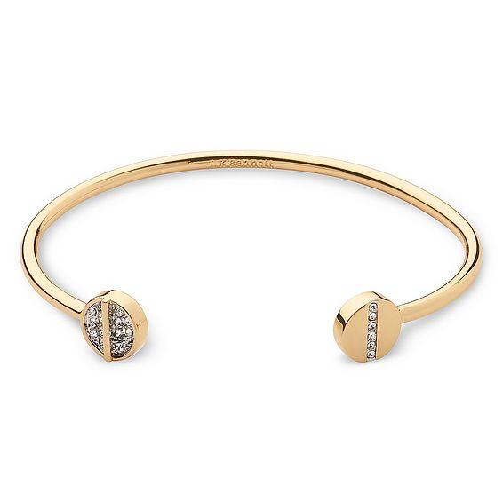 Hayden Crystal Encrusted Gold Bracelet
