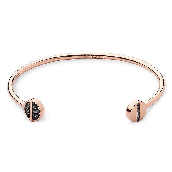 Hayden Encrusted Rose Gold Bracelet