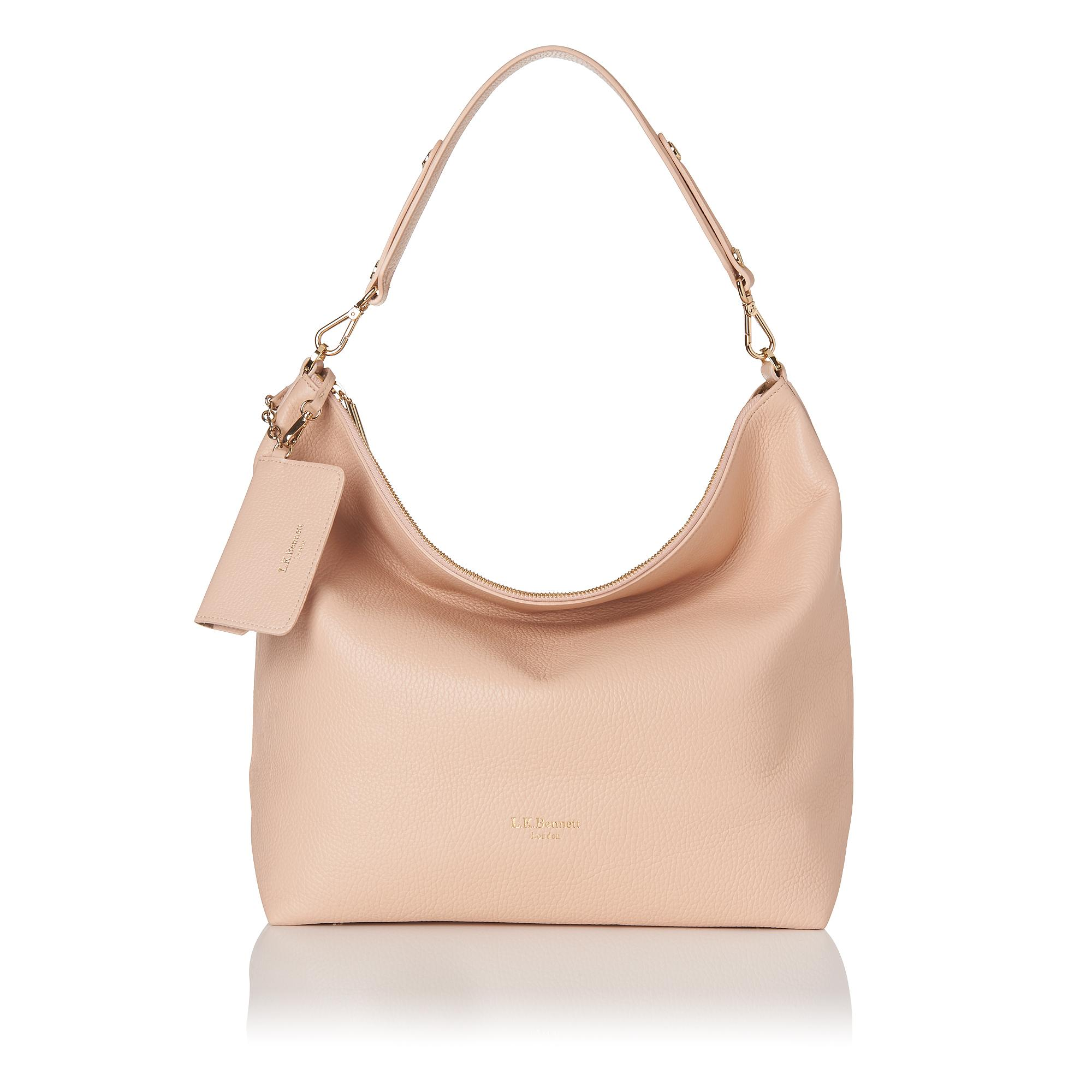 Bobbie Leather Work Shoulder Bag Compare Bluewater Coach Swagger 20 In Pebbled Peach