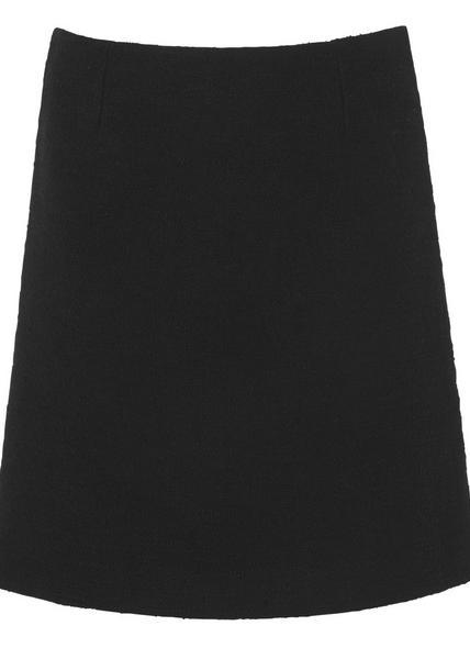 Gee Black Tweed Skirt