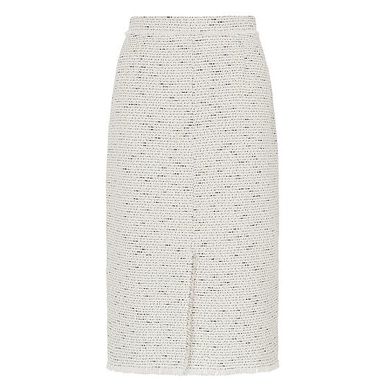 Laurel Cream Tweed Skirt
