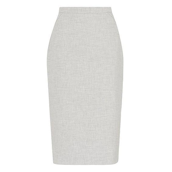 Lize Grey Melange Skirt