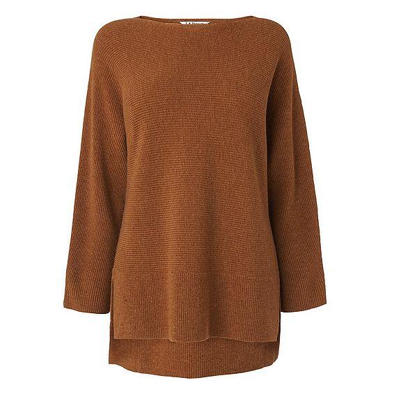 Cassia Camel Wool Cashmere Jumper