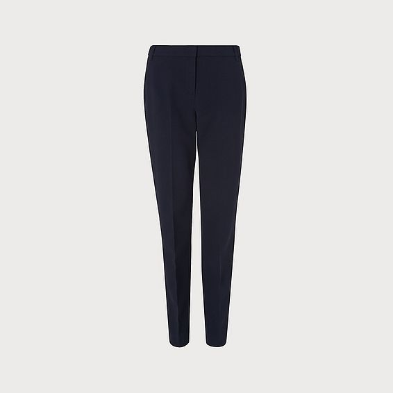Evie Navy Trouser