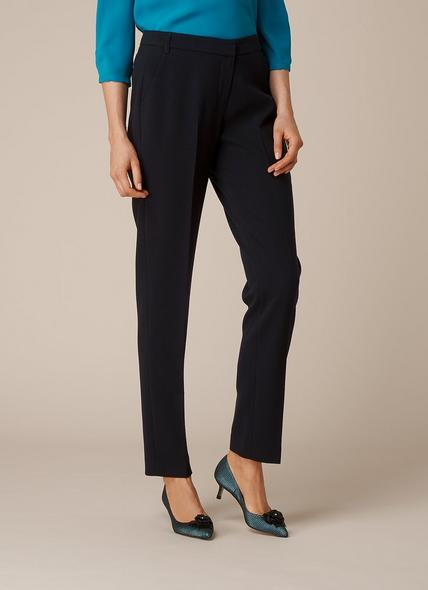 Evie Navy Trousers