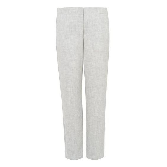Lize Grey Melange Trousers