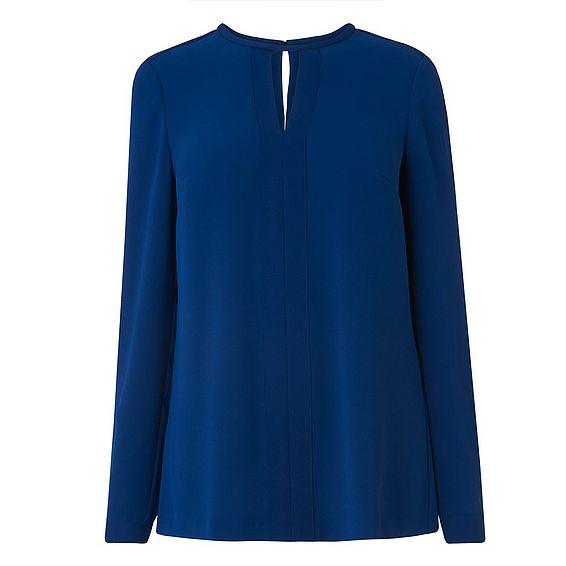 Riko Blue Woven Top
