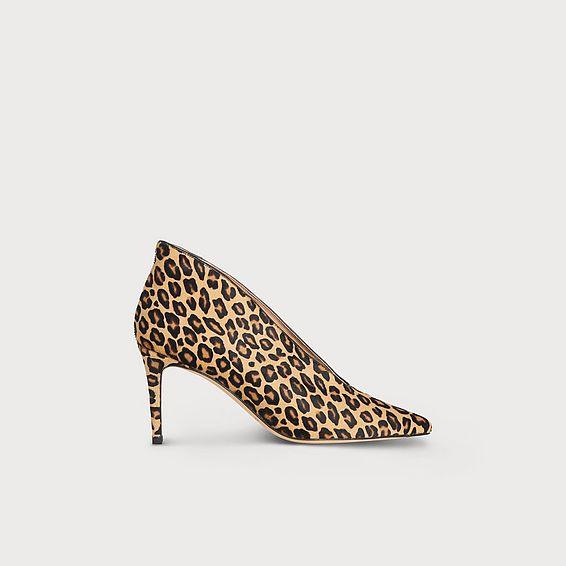 Corrina Leopard Print Closed Courts