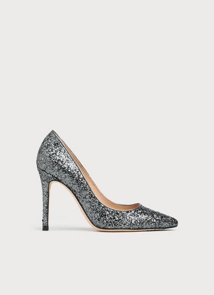 Fern Grey Glitter Courts