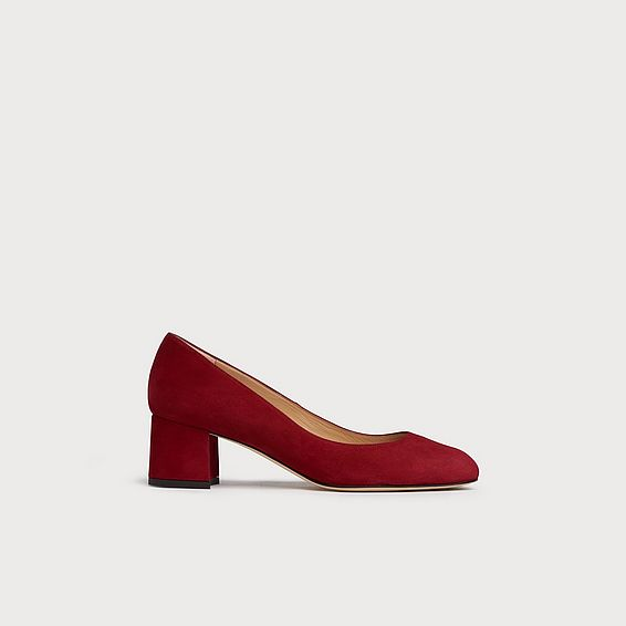 Niamh Red Suede Courts