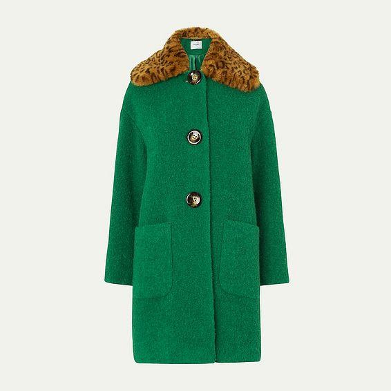 Aster Green Coat