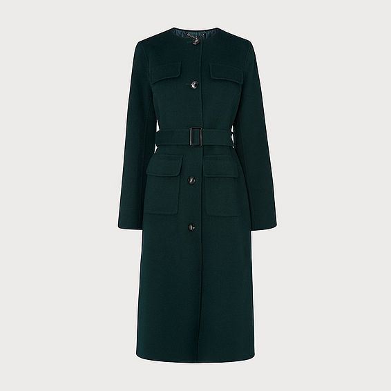 Audry Green Coat