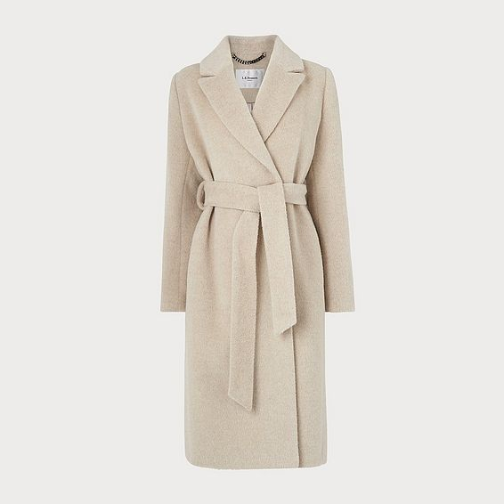 Raina Cream Coat
