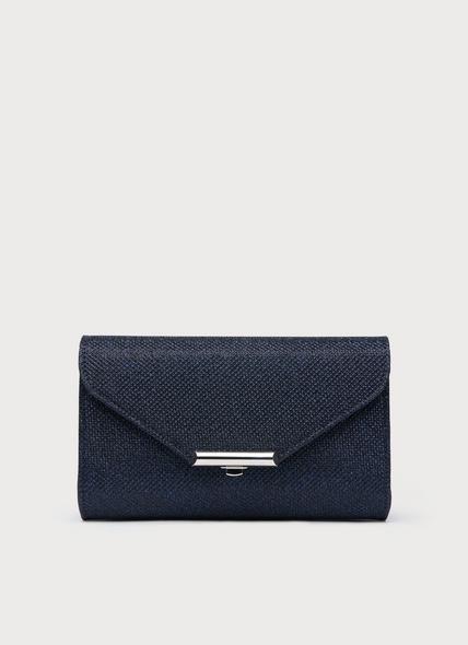 Sissi Navy Clutch Bag
