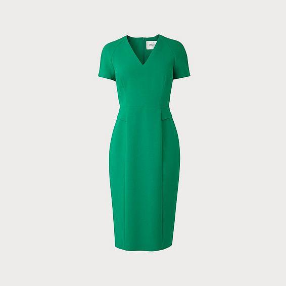 Bessa Fern Green Dress