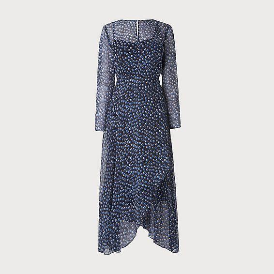 Beya Navy Dress