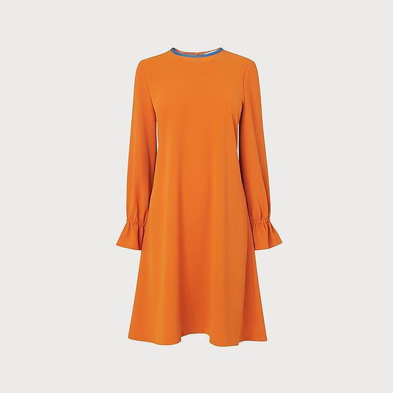 Darlie Orange Dress