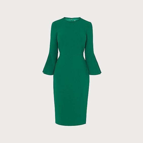 Doris Green Dress