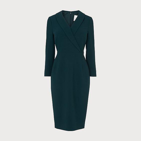 Effie Green Dress