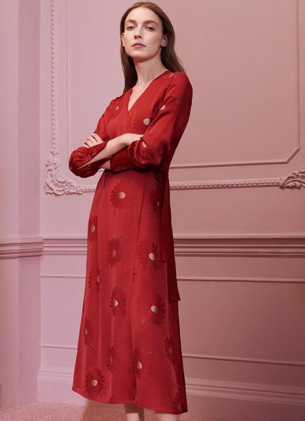 Elspeth Red Dress